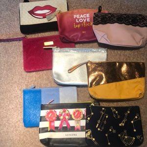 Bundle of Unused Make Up Bags